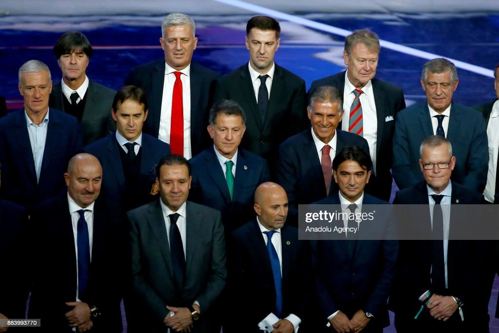 2018 FIFA World Cup Russia Final Draw : News Photo