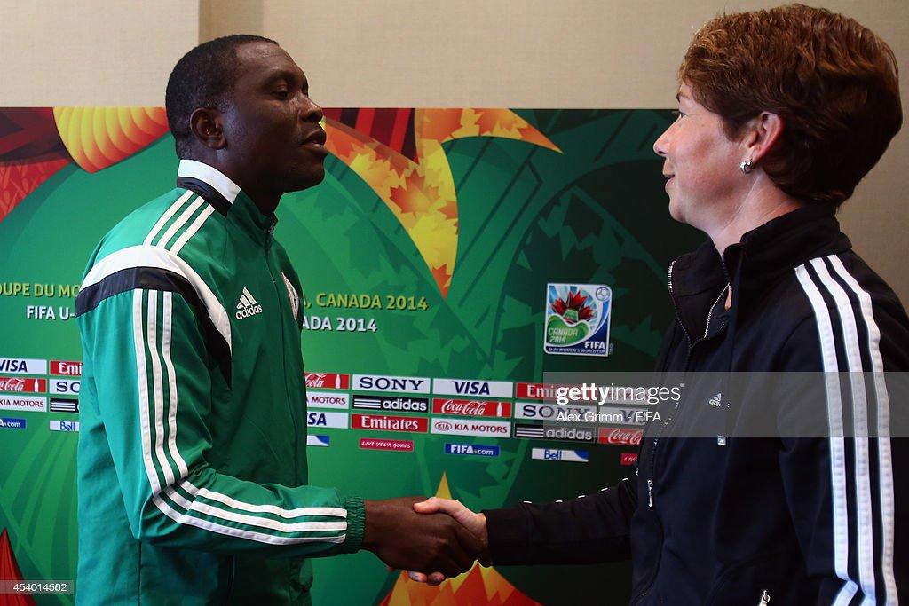FIFA U-20 Women's World Cup Canada 2014 Closing Press Conference : News Photo