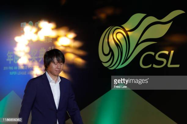 Head Cocah Li Tie attends during 2019 China Super League Annual Award Ceremony at Shanghai World Expo Center on December 7, 2019 in Shanghai, China.