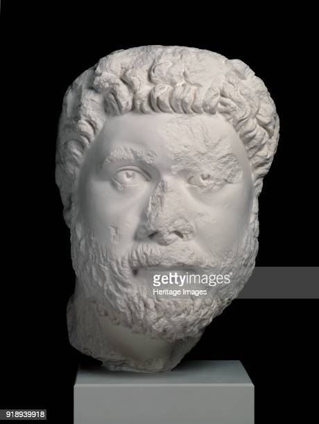 Head from portrait statue of Oecumenius from Aphrodisias c400 Head of governor Oecumenius from a chlamys statue The inscribed base also survives in...