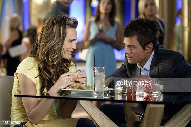 LAS VEGAS Head Games Episode 4 Pictured Molly Sims as Delinda Deline Josh Duhamel as Danny McCoy