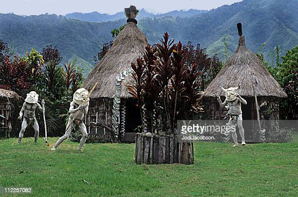 MUDMEN Head hunters, Papua New Guinea