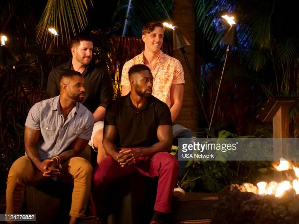 ISLAND Head in the Sand Episode 106 Pictured Karl Collins John Thurmond Javen Butler Evan Smith