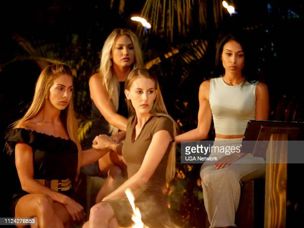 ISLAND Head in the Sand Episode 106 Pictured Nicole Tutewohl Kady Krambeer Kaci Campbell Shari Ligons