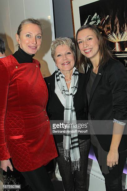 Head International of PR of La Cornue, Macha Kontchakova , her mother Tatiana and her sister Anna attend a traditional craftsman food tasting at La...