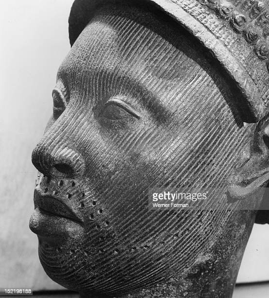A head made by the lost wax process of bronze casting This is thought to be a portrait of an Ife king but is sometimes identified with the sea god...