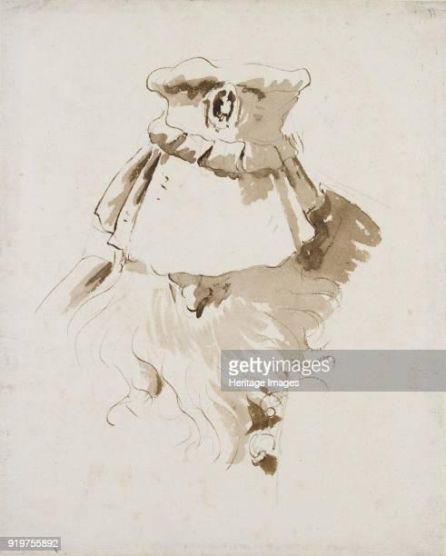 Head of a bearded Man mid 18th century Artist Giovanni Battista Tiepolo