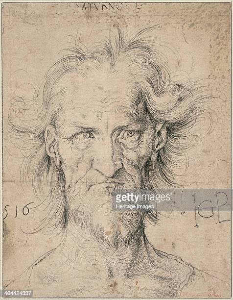 Head of a Bearded Old Man 1516 Found in the collection of the Albertina Vienna