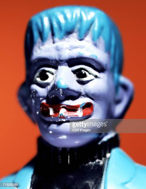 head of a monster - frankenstein stock pictures, royalty-free photos & images