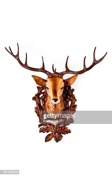 Head of einer Kunststoff deer