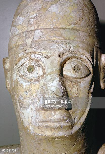 Head of a statue of Idrimi a king of Alalakh Late Bronze Age/Syrian 16th century BC An inscription in Babylonian cuneiform script says that he was...