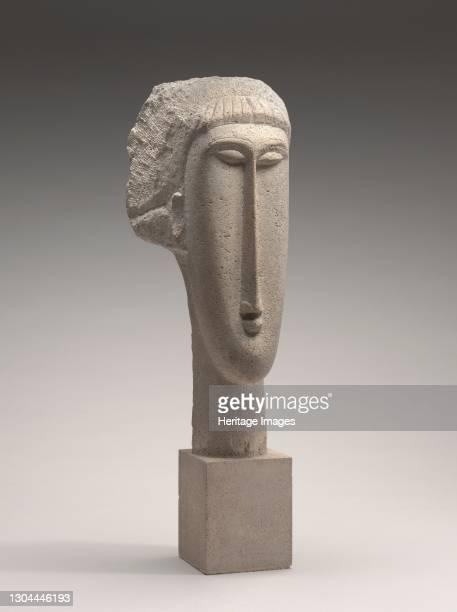 Head of a Woman, 1910/1911. Artist Amadeo Modigliani.