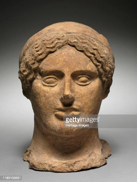 Head of a Woman, 500-475 BC. Creator Unknown.
