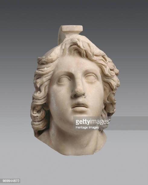 Head of Achilles ca 160 BC Found in the Collection of Antikenmuseum Basel