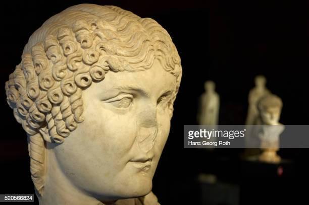 Head of Agrippina in the Nero-Exhibition on Roman Forum, Foro Romano