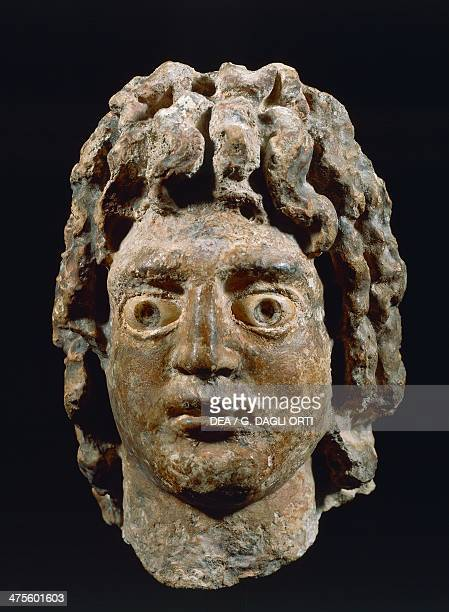 Head of Alexander the Great King of Macedonia Hellenistic statue from the Temple of Serapis Alexandria Egypt 3rd2nd century BC