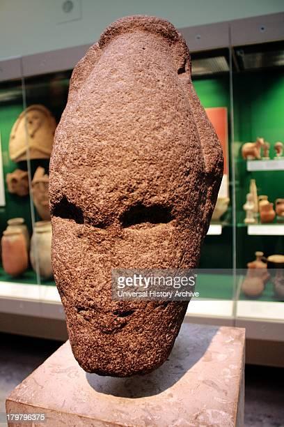 Head of Ammonite king Iron Age II