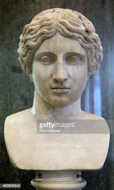Head of an Amazon, early 1st century. Roman work, after the Greek original of the 430s BC by Polykleitos. According to Greek mythology, the Amazons...