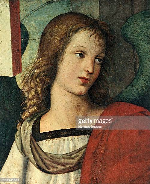 Head of an Angel c 1500 Found in the collection of the Pinacoteca Tosio Martinengo Brescia