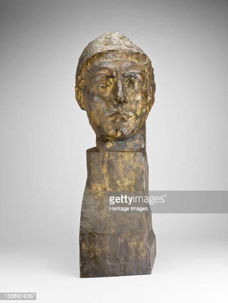 Head of Apollo, 1900-1909. Artist Emile Antoine Bourdelle.
