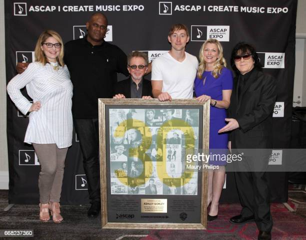Head of A&R at Warner-Chappell Music Katie Vinten, Chairman & CEO, Warner/Chappell Music Jon Platt, ASCAP President Paul Williams, songwriter Ashley...