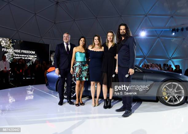 Head of BMW Group Cultural Engagement Thomas Girst BMW Head of Brand Cooperations Arts Design Hedwig Solis Weinstein BMW North America VP of...