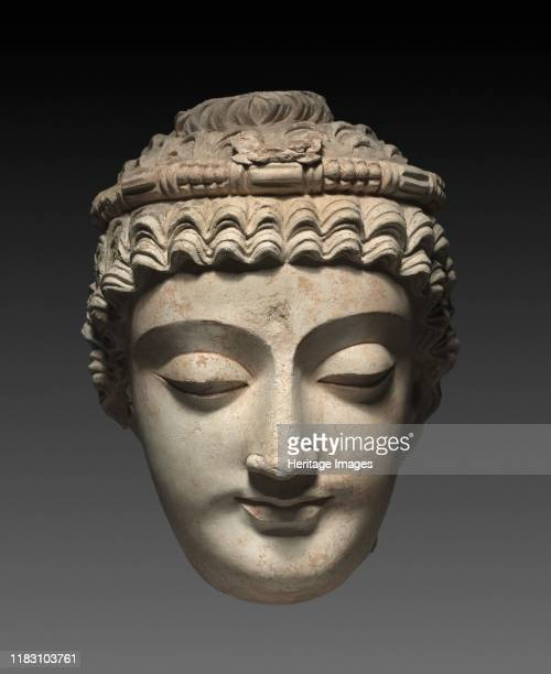 Head of Bodhisattva Avalokiteshvara, 300s-400s. By this period, individual bodhisattvas were beginning to be revered as ideal figures who would...