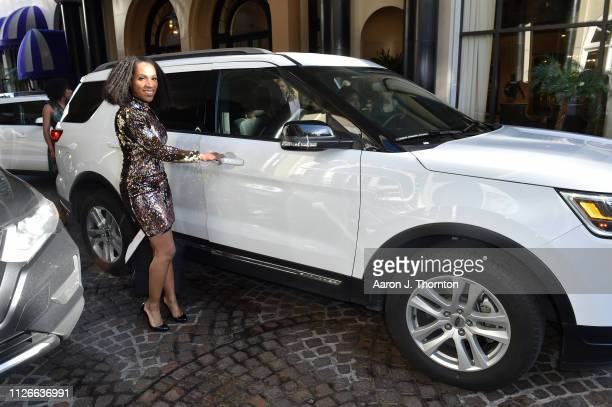 """Head of Brand Strategy and Growth Audience Marketing at Ford Motor Company Rajoielle """"Raj"""" Register attends the 2019 Essence Black Women in Hollywood..."""