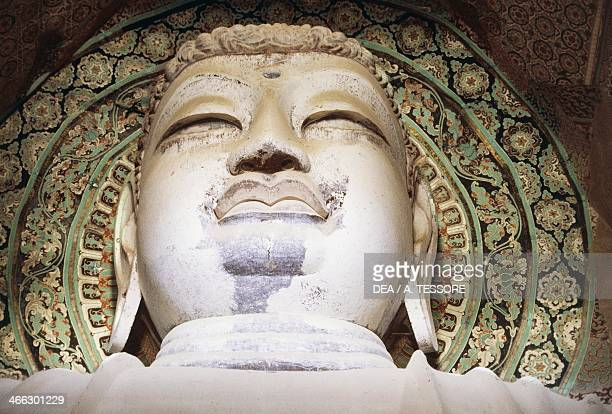 Head of Buddha in Cave 194 Mogao Grottoes Tang Dynasty Dunhuang Gansu Province China