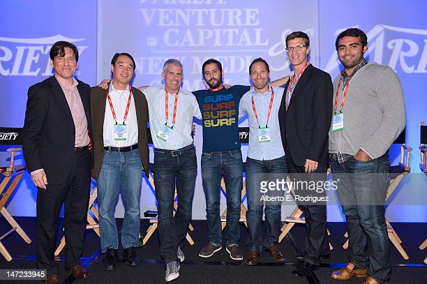 CAA head of business development Michael Yanover Comcast Ventures managing director Michael Yang Vanture Partner Greycroft Partners Managing Director...
