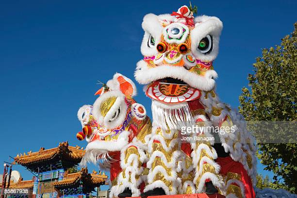 Head of Chinese Dragon Puppet.