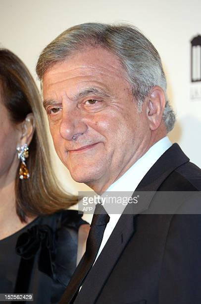 Head of Christian Dior Couture Sidney Toledano arrives to attend the inauguration ceremony of the Cite du cinema a film studios complex heralded as...