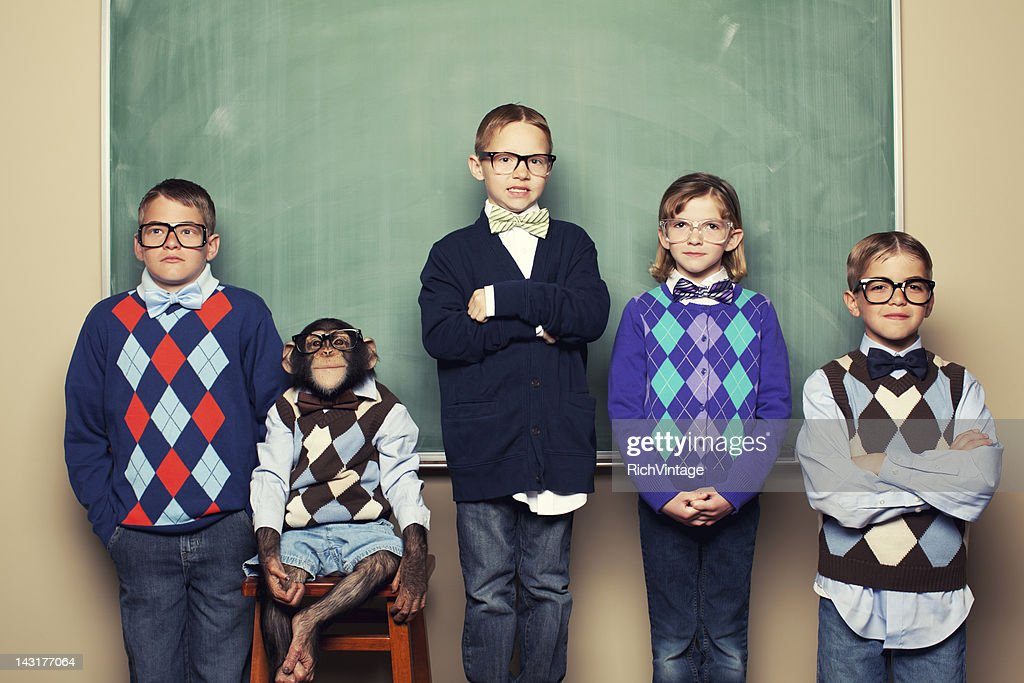 Head of Class : Stock Photo