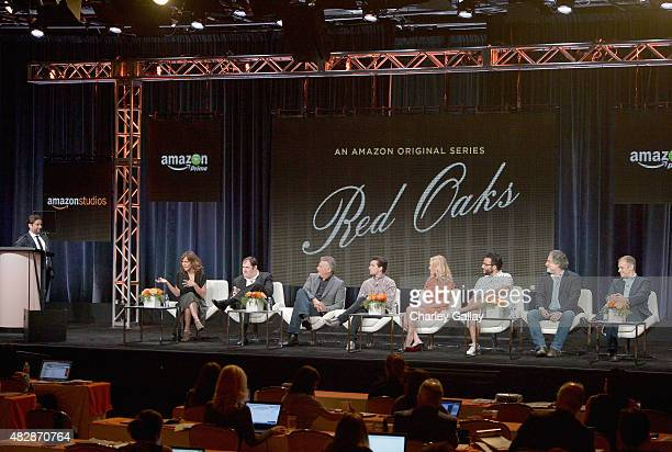 Head of Comedy Amazon Studios Joe Lewis actors Jennifer Grey Richard Kind Paul Reiser Craig Roberts Gage Golightly Ennis Esmer...