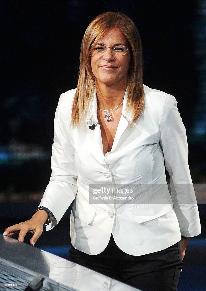 """""""Che Tempo Che Fa"""" Italian TV Show - October 9, 2011 : News Photo"""