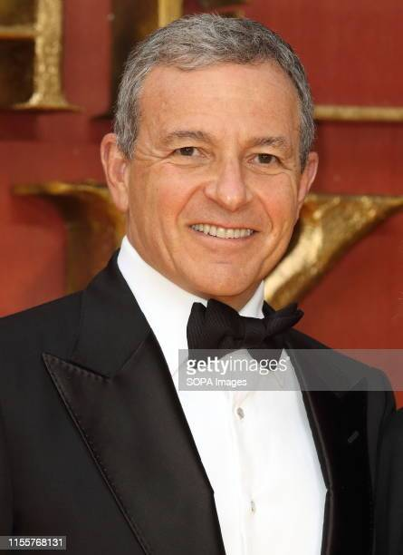 Head of Disney Bob Iger attends the European Premiere of Disney's The Lion King at the Odeon Luxe cinema Leicester Square in London