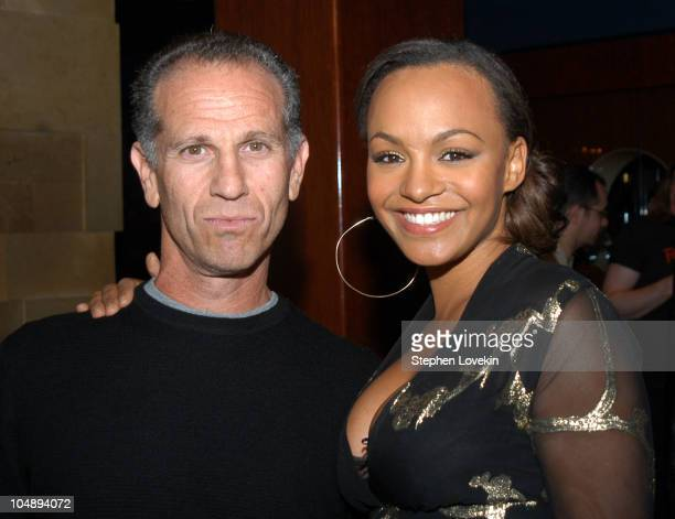 Head of Dreamworks Records Michael Austin and Maria