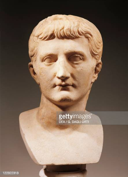 Head of Emperor Caligula JulioClaudian dynasty imperial age marble