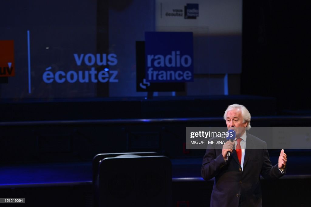 Head of French public media group Radio France, Jean-Luc