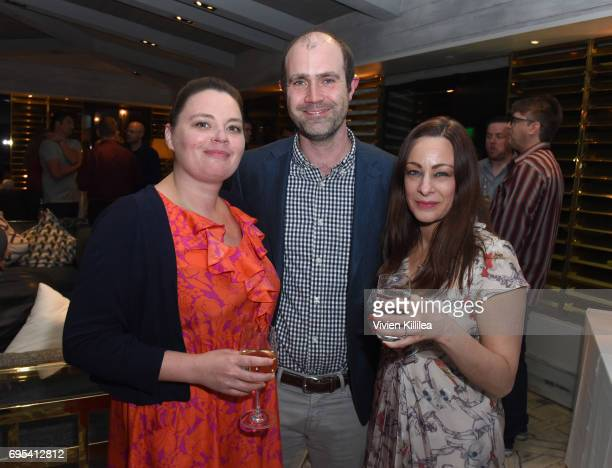 Head of Games Children's Membership and Awards at BAFTA Kelly Smith COO of BAFTA Los Angeles Matthew Wiseman and Director of Awards Membership at...