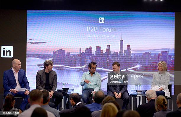 Head of Global Agency Relationships at LinkedIn Marketing Solutions Jon Williams CEO CCO of Gyro Christoph Becker CEO and CoFounder at NewsCred...