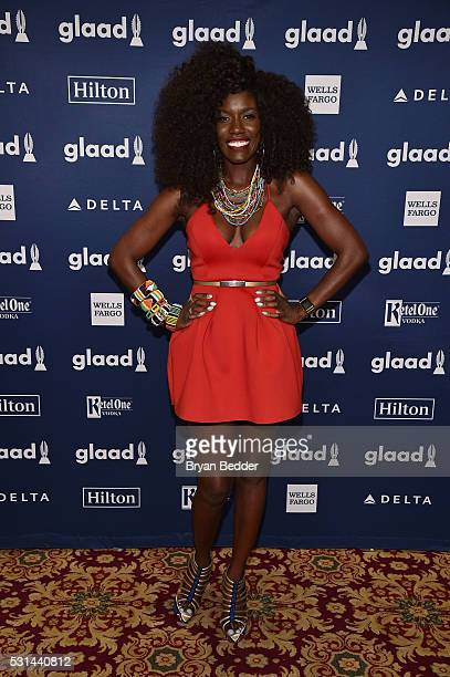 Head of Global Consumer Marketing for Apple Bozoma Saint John attends the 27th Annual GLAAD Media Awards in New York on May 14 2016 in New York City