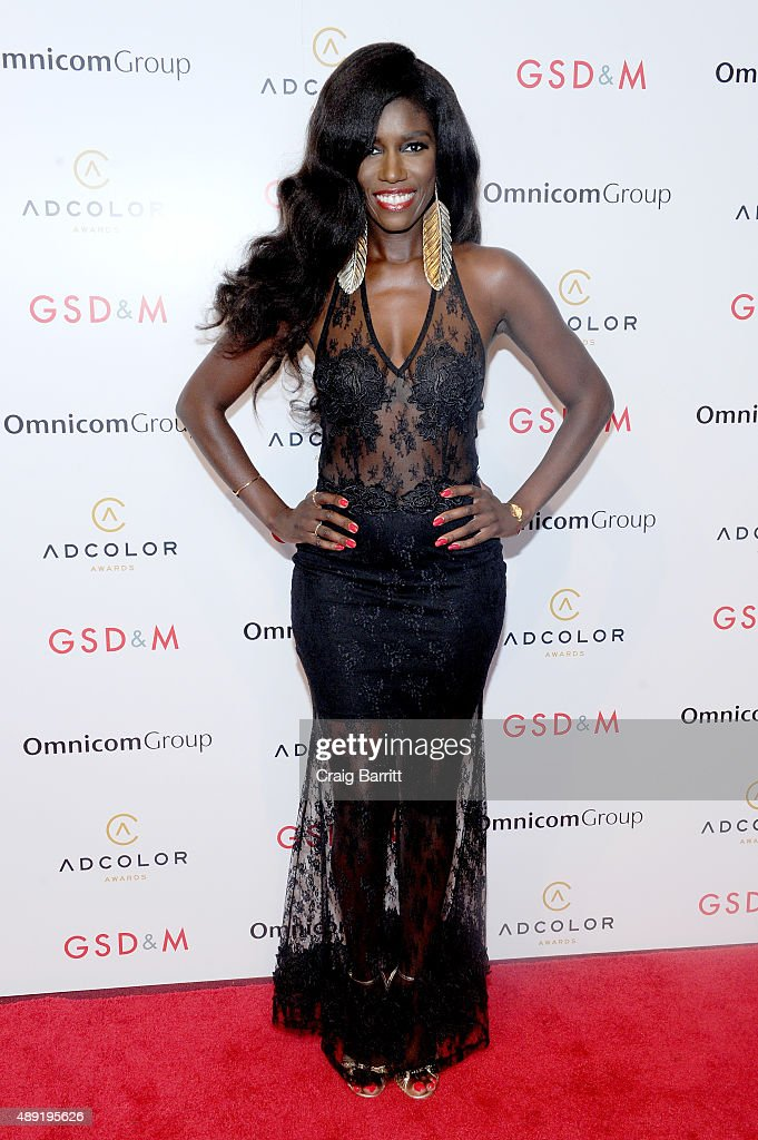 SVP, Head of Global Marketing at Beats Music Bozoma Saint John attends the 9th Annual ADCOLOR Awards at Pier 60 on September 19, 2015 in New York City.