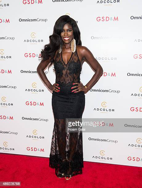 SVP Head of Global Marketing at Beats Music Bozoma Saint John attends the 9th Annual ADCOLOR Awards at Pier Sixty at Chelsea Piers on September 19...
