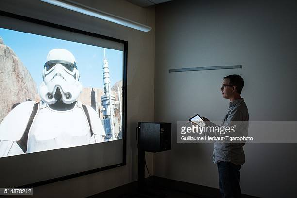 Head of ILMxLAB and VP of New Media at Lucasfilm Rob Bredow is photographed for Le Figaro Magazine on November 25, 2015 at Industrial Light & Magic...