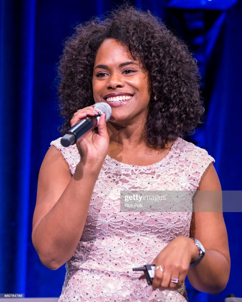 Head of CS in Media Multicultural Strategy, Google, Daraiha Greene speaks on stage at Google CS+X Series: Dress Code at Google Los Angeles Office on October 12, 2017 in Venice, California.
