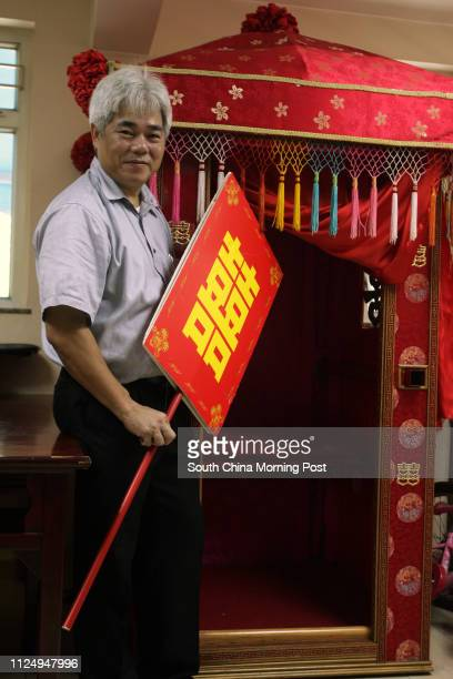 Head of Lam Tin Tsuen Tang Kwokkong A bridal sedan chair 10 AUGUST 2006