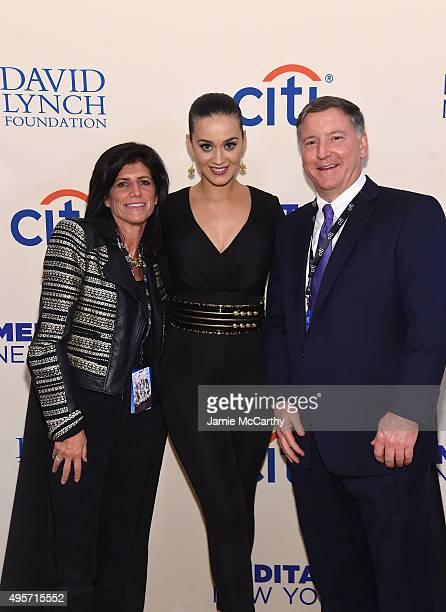 Head of Marketing Citi US Consumer and Commercial Banking and CitiMortage Lisa Dacey and Singer Katy Perry attend Citi Presents Change Begins Within...