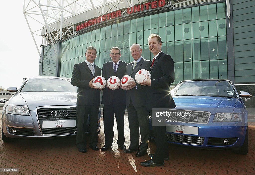Manchester United Announce New Partnership With Audi Photos And - Audi car events