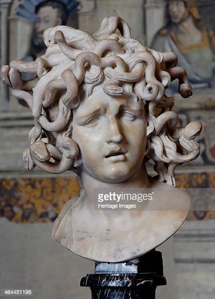 Head of Medusa, 1630. Found in the collection of the Musei Capitolini, Rome.